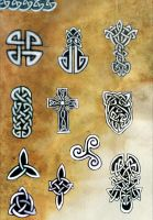 Set of celtic tatoos by Sarmati