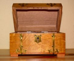 Little Open Treasure Chest by Limited-Vision-Stock