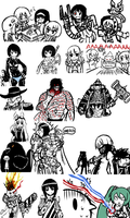 Drawthreads  2011-2012 by COMMISSAR-NYORON