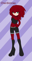Chardonnay the Echidna by Sophiecinders14