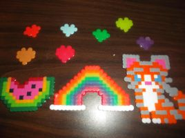 Perler Secret Valentine Trade Kandi by PandiHandi