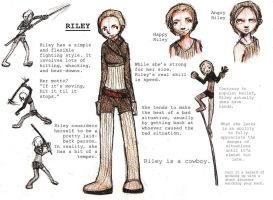Riley: Reference Sheet by Aileen-Kailum