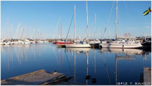 Ystad Harbor by secludedspace