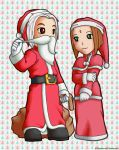 Mr. and Mrs. Santa by matsunoki