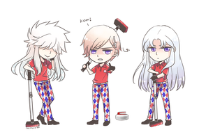 norway curling team by akato3