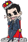 Chibi Moriarty by 221bee