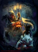 Halloween Madness by BlackMysticA