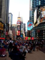 Times Square by 0hdearx