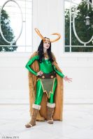 Lady Loki by limejutsu