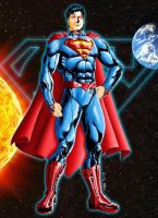 MS DCnU Superman - Colors by JeanSinclairArts