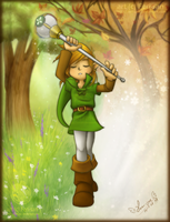 LoZ: Hero of Seasons by Ferisae