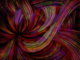 Colorful Swirly Crayon Design by shadorma
