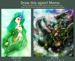 Draw This Again Meme - Like Mist by yesbutterfly