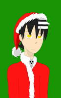 Death the Kid Christmas request by CrystiSeeris2