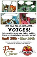Peter and Company Voice Auditions: NOW OPEN!!! by PeterAndCompany