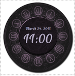 Date and Time Clock by RebeccasArt