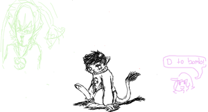 Petkat in iscribble by Tuxn