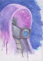 Tali Watercolors by PsychoticKpopper