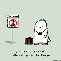 Dinosaur Facts - Tokyo by DeathByStraws
