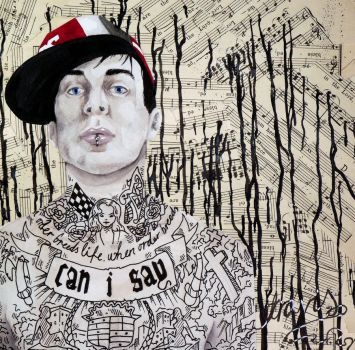 Travis Barker by happy-smiley-robot