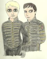 Gerard and Frank by TheSimpsonsFanGirl