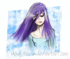 Fast tablet purple hair by May-Brush