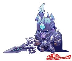 Cute but Deadly ARTHAS by NorseChowder