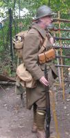 French Soldier 1940 by WestytheTraveler