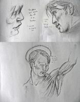 more Hannibal Lecter scribbles by 666solitaryman