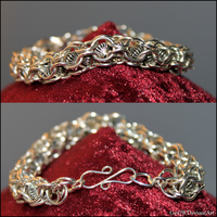 Chainmaille bracelet 7 by Gex78