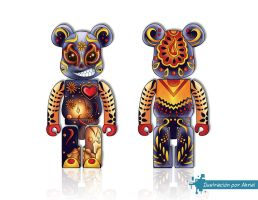 bearbrick by Akriel