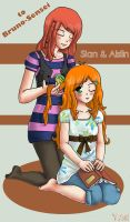 Prize: Sian and Aislin by lilith-lips