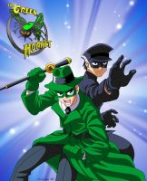 Green Hornet and Kato by CaptRicoSakara