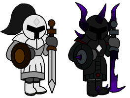 Infinity Army: The Knights by TheSpiderManager