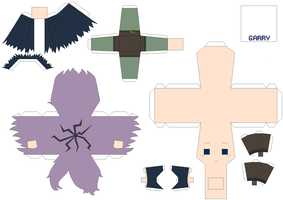 Garry Papercraft Template by Huski-Fan