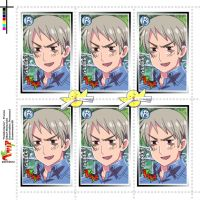 Hetalia Stamps - Prussia by Dreamweaver38