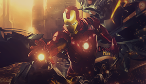 Iron Man by RawrT-Rex