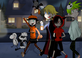 Halloween tour by PuniCross