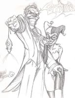 Joker and Harley by DangerFace