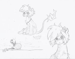 Sketches of some Winters by KyuremGirl