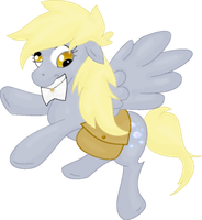 Derpy Hooves by TwitchyTail