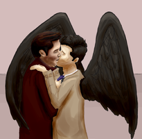 MORE Destiel by annabelllee125