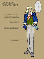 Ian Roland Fashion Guide by tinoeby