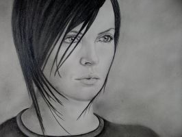 Aeon Flux by ArtIsLife88