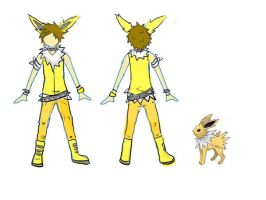 PKM: Jolteon Cosplay Design by TamRaki