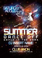 Summer Dance Off Mock Flyer by OhHeyItsSK