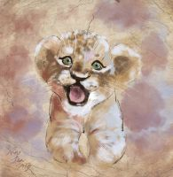 mandatory daily cat sketch 0346 by nosoart