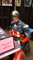NYCC 2014 - Capt. America at Enterplay's Booth by DestinyDecade