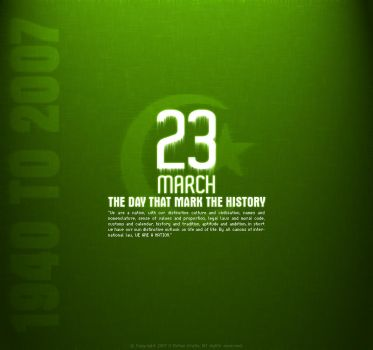 Resulotion Day of Pakistan by umer2001