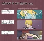 Music is my muse - Filled Meme by ShamanEileen